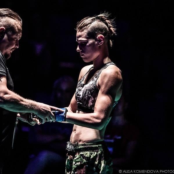Fighter Lucrezia Ria - Calibian MMA-Management